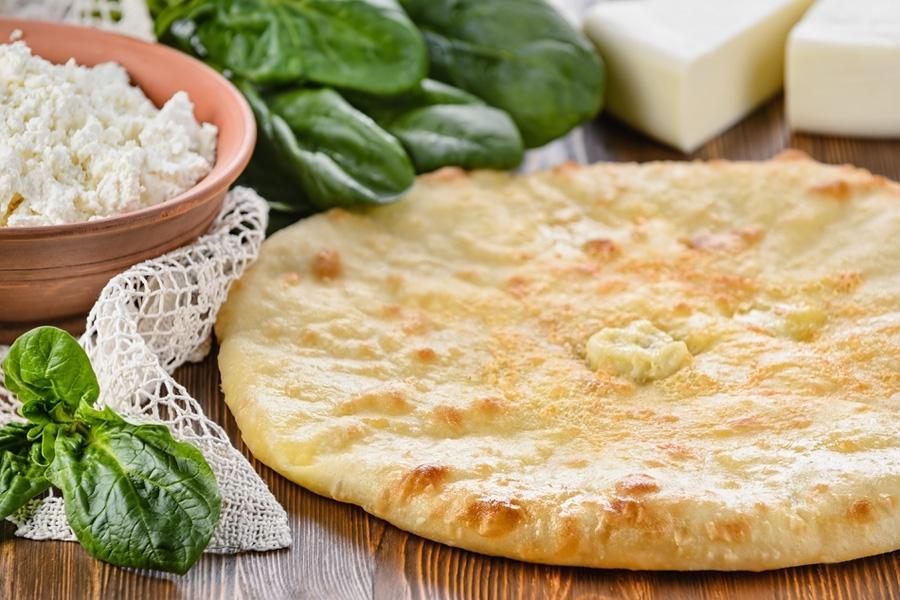 Осетинские пироги с зеленью и творогом рецепт